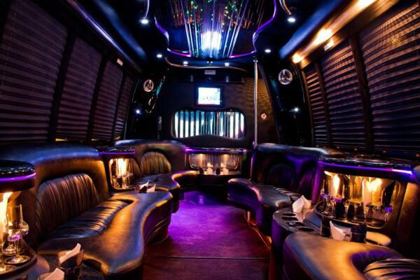 15 Person Party Bus Rental Portland