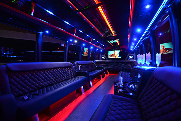 40 Person Party Bus Rental Portland