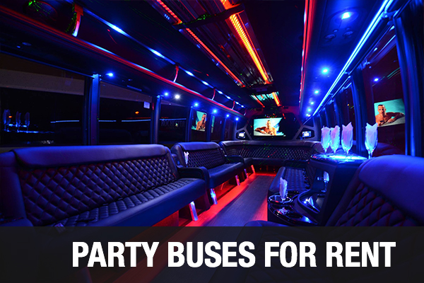 Party Buses For Rent Portland